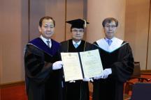강병중 회장, 한국외국어대학교에서..